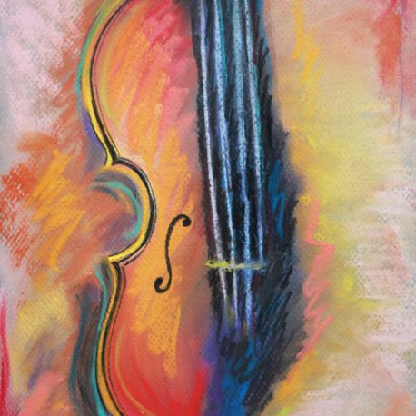 For the Love of Violin – 8×10