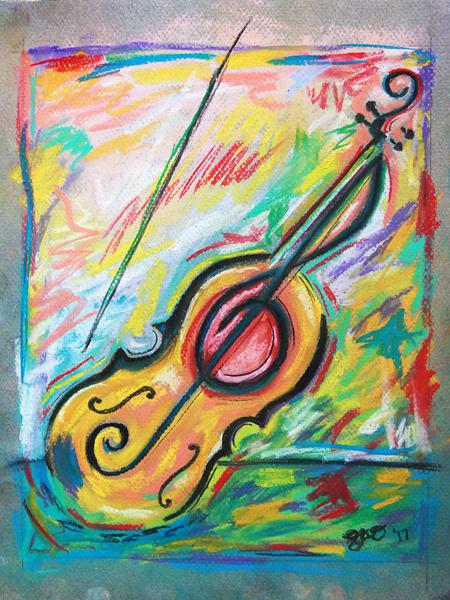 Crazy Violin – 8×10