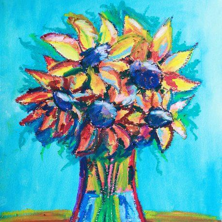 Sunflowers – 9×12