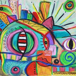 Cat Eyes Under the City Lights