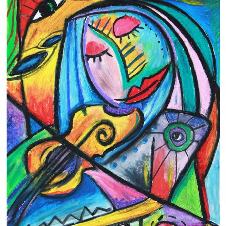 She Likes to Play – 9×12