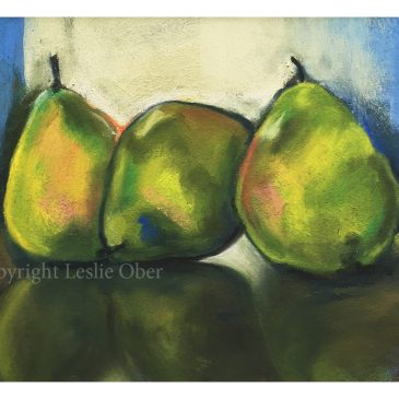 Landscape and Pears